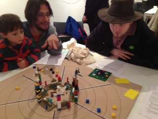 Lego Panopticon - first played prototype at Brighton Crypto Festival 1st December 2013