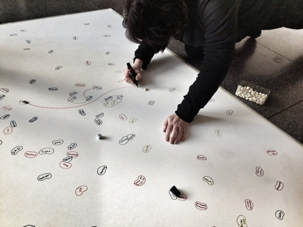 nina-draws-first-random-connection-of-game-rootbeans-scifest-2014